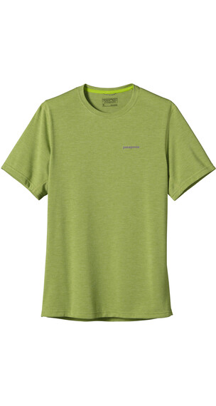 Patagonia M's Nine Trails S/S Shirt Supply Green